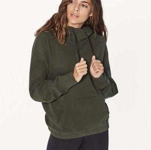 🌲Lululemon | Warm for Winter Hoodie in Dark Olive